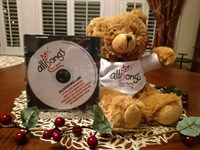 NEW! Ms. Alli's CD with Allisongs Bear